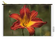 Flaming Lily Carry-all Pouch