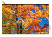 Flaming Maple - Paint Carry-all Pouch
