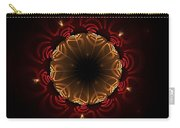 Flaming Night Flower Carry-all Pouch