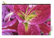 Flaming Tiger Lily Carry-all Pouch