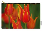 Flaming Tulips Carry-all Pouch