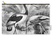 Flamingo & Jabiru Carry-all Pouch