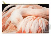Flamingo Abstract Carry-all Pouch