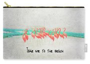 Flamingo Art II Carry-all Pouch