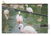 Flamingo Bath  Carry-all Pouch