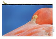 Flamingo Blues Carry-all Pouch