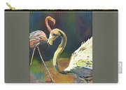 Flamingo Click Carry-all Pouch