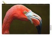 Flamingo Closeup Carry-all Pouch