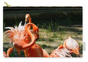 Flamingo Colony Carry-all Pouch