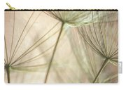 Flamingo Dandelions Carry-all Pouch