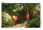 Flamingo Duo Carry-all Pouch