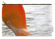 Flamingo Feeding Carry-all Pouch