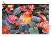 Flamingo Flower Bed Carry-all Pouch