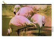Flamingo - Id 16217-202804-4625 Carry-all Pouch