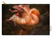 Flamingo In Darkness Carry-all Pouch