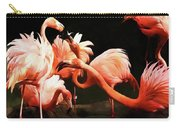 Flamingo Kisses Carry-all Pouch