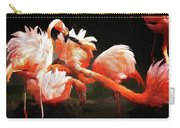 Flamingo Mingles Carry-all Pouch
