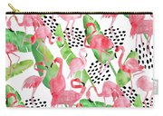 Flamingo Paradise Carry-all Pouch