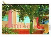 Flamingo Plaza Carry-all Pouch