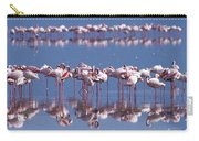 Flamingo Reflection - Lake Nakuru Carry-all Pouch