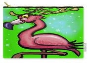 Flamingo Reindeer Carry-all Pouch