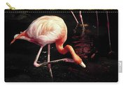 Flamingo Scratching Head Carry-all Pouch