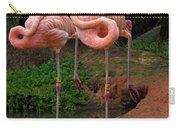 Flamingo See Flamingo Do Carry-all Pouch