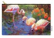 Flamingo Tangerine Dream Carry-all Pouch