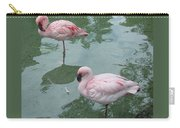 Flamingoes Posing Carry-all Pouch