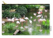 Flamingos 4 Carry-all Pouch