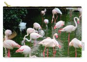 Flamingos 6 Carry-all Pouch