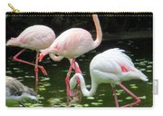 Flamingos 8 Carry-all Pouch