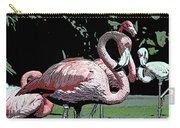 Flamingos I Carry-all Pouch