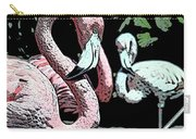 Flamingos II Carry-all Pouch
