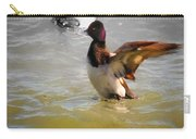 Flapping Lesser Scaup Carry-all Pouch