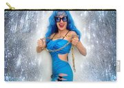 Flashing. Dance With Gold Chain Carry-all Pouch