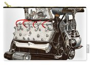 Flat Head V 8 Engine Carry-all Pouch