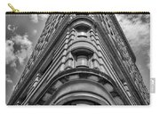 Flatiron Building  Nyc Black And White Carry-all Pouch