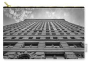 Flatiron Building Sky Black And White Carry-all Pouch