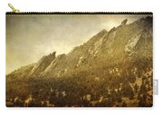 Flatiron Views  Boulder Colorado Carry-all Pouch