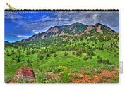 Flatirons And Clouds Carry-all Pouch
