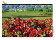 210546-v-flatirons And Flowers V  Carry-all Pouch