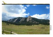 Flatirons Panorama Carry-all Pouch
