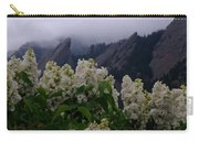 Flatirons White Lilacs Carry-all Pouch