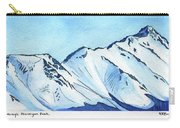Flattop Through Ptarmigan Peak, Alaska Carry-all Pouch