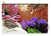 Flavored With Onion And Garlic Carry-all Pouch by Sarah Loft