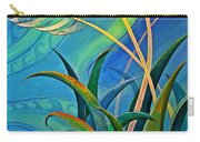 Flax Harakeke By Reina Cottier Carry-all Pouch