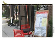 Flemington, Nj - Sidewalk Cafe Carry-all Pouch