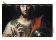 Flemish Salvator Mundi Carry-all Pouch