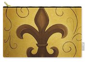 Fleur De Lis Carry-all Pouch